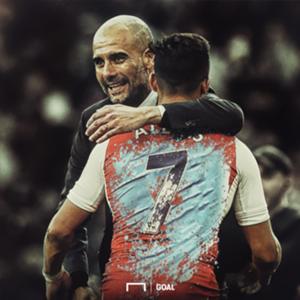 GFX Alexis Sanchez Pep Guardiola