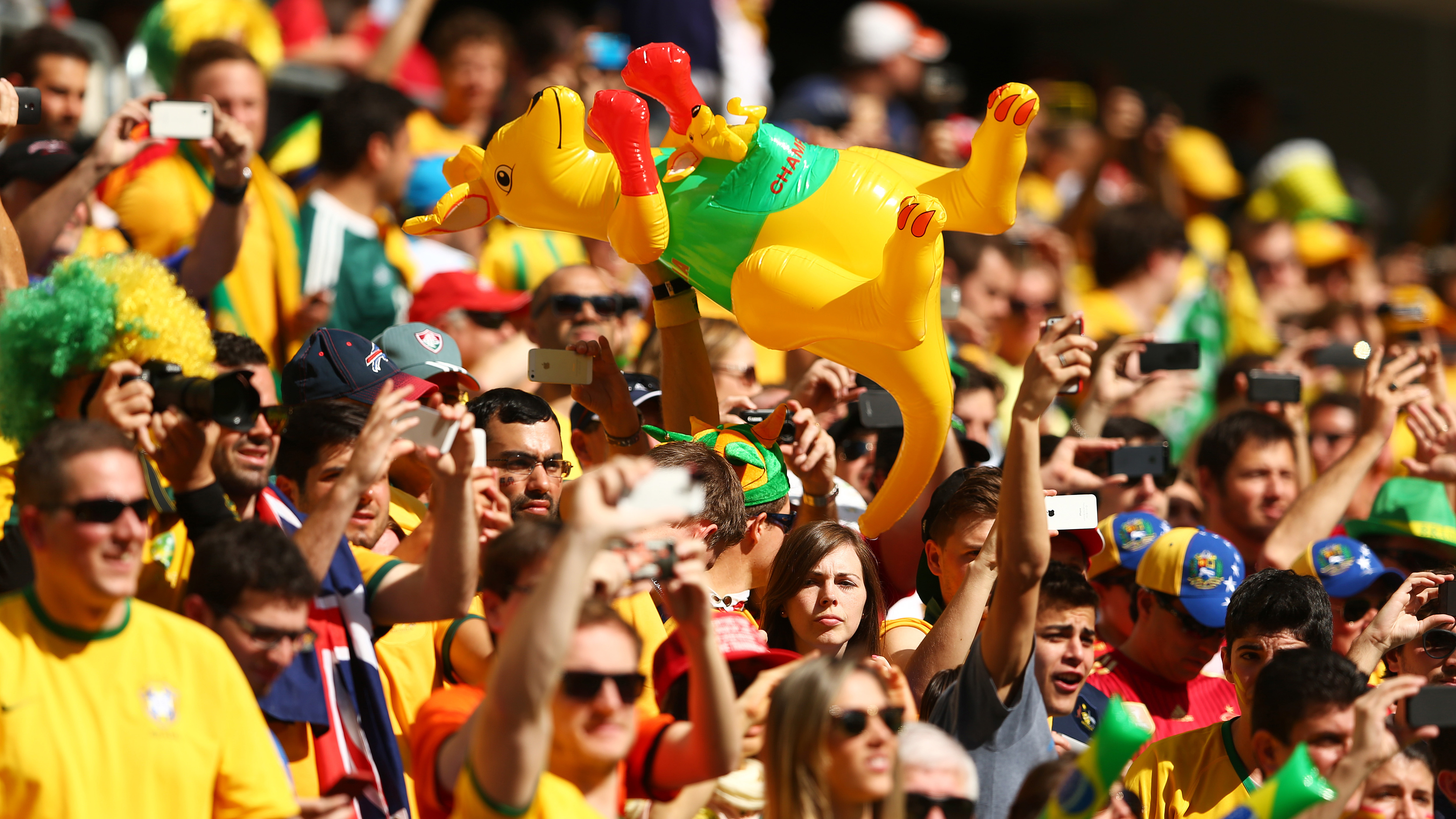 Australia fans World Cup 2014
