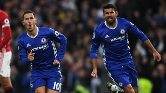 Eden Hazard Diego Costa Chelsea