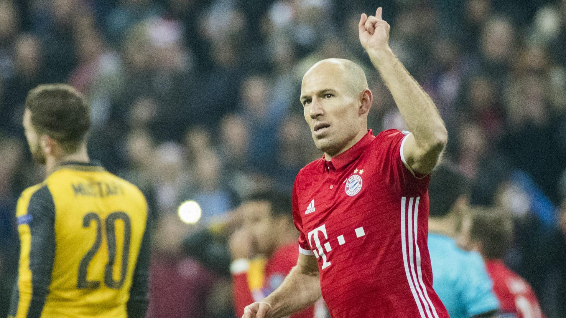 Arjen Robben Bayern Munich Champions League
