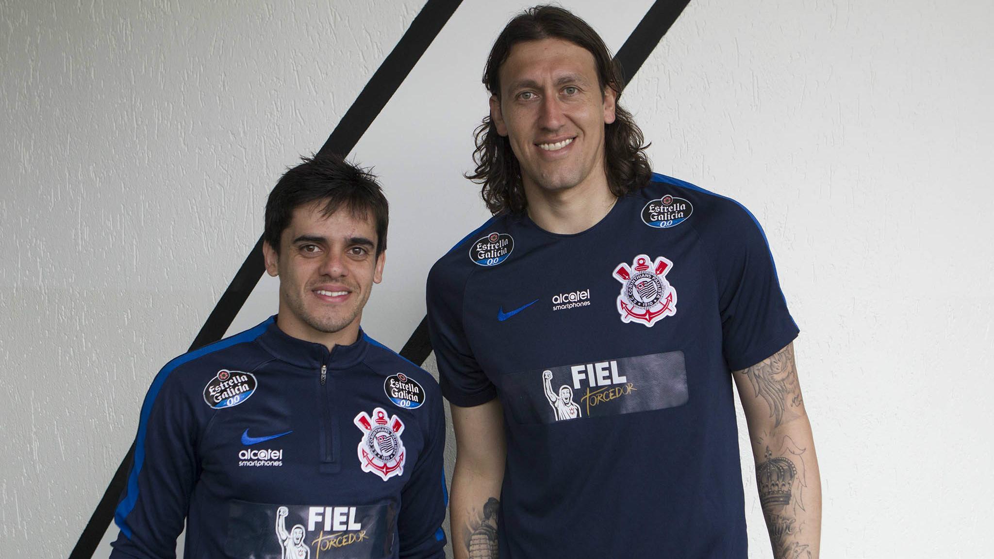 Cássio e Fagner - Corinthians - 10/08/2017