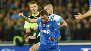 Marek Hamsik Claudio Marchisio Napoli Juventus