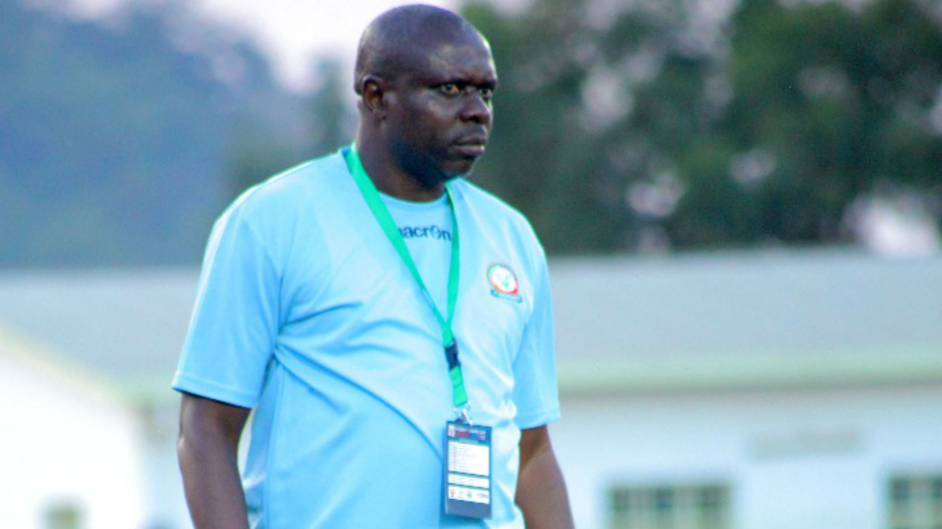 Aggrey Chiyangi coach of Green Eagles of Zambia.j