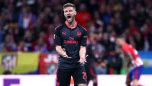Shkodran Mustafi Atletico Madrid Arsenal Europa League