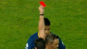 Goltz Expulsion Boca Rosario Central Fecha 10 Superliga 26112017