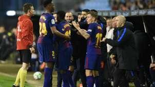 Yerry Mina Lucas Digne Celta Barcelona LaLiga