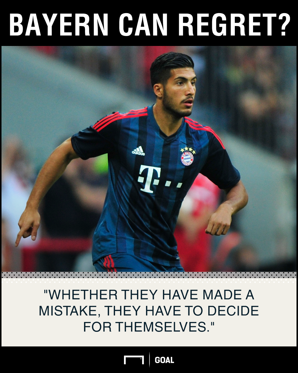 Emre Can No Bayern Munich regret