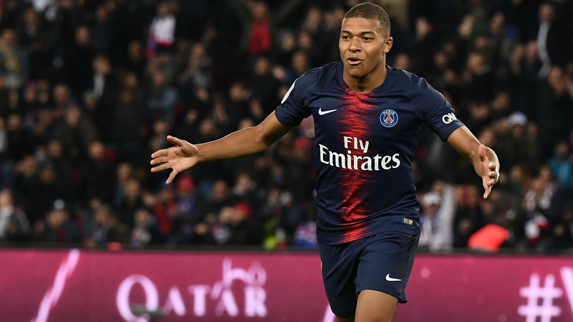 Mbappe nets four goals in 13 minutes as PSG thrash Lyon