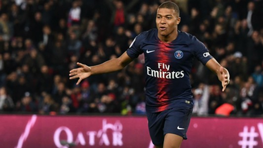 Kylian Mbappe PSG Lyon Ligue 1 07102018