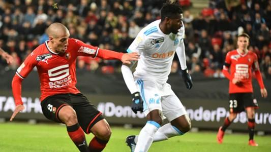 Wahbi Khazri  Andre-Frank Zambo Anguissa Rennes Marseille Coupe de la Ligue 13122017
