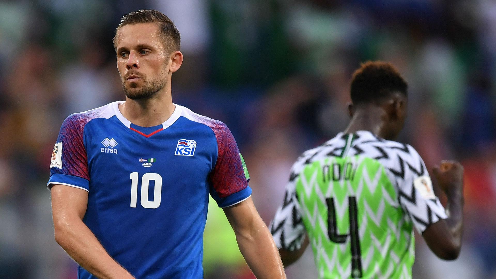 Gylfi Sigurdsson Iceland Nigeria