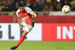 Radamel Falcao tiro libre Monaco vs Dijon 15042017