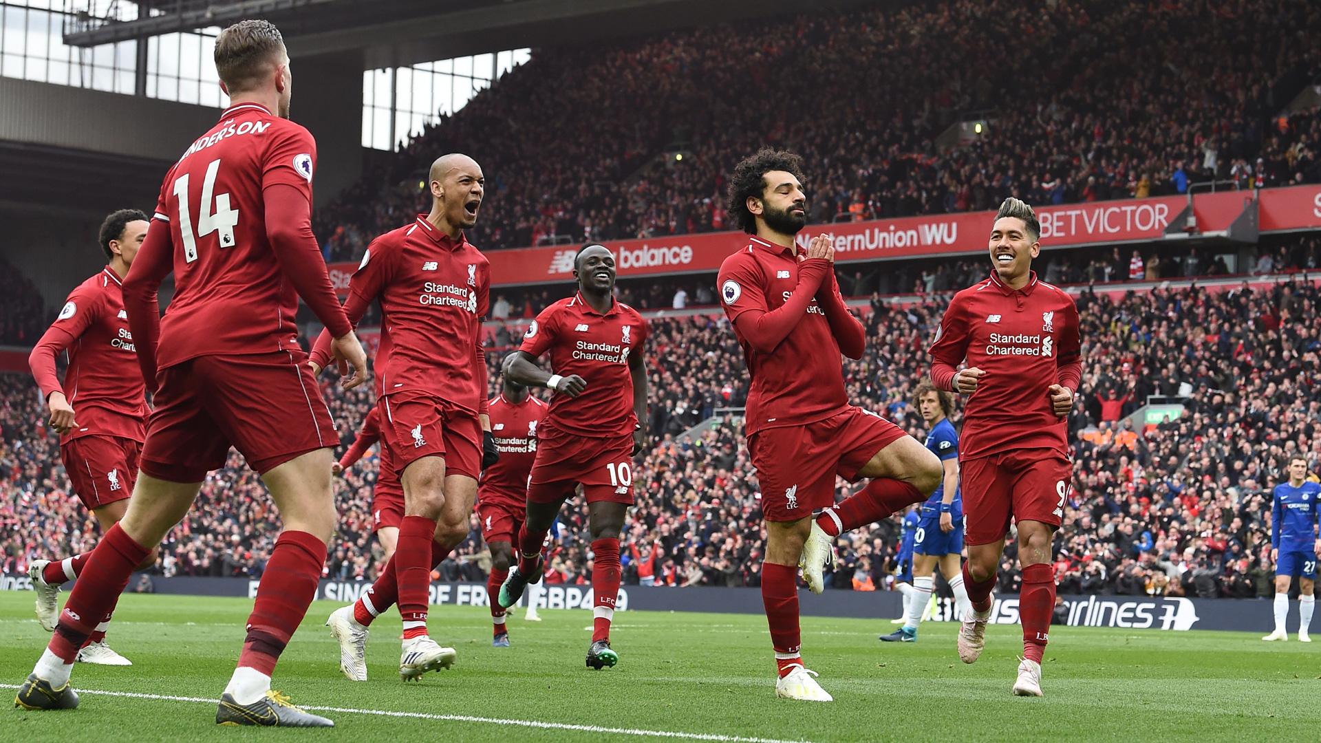 Liverpool Salah Premier League Chelsea 0419