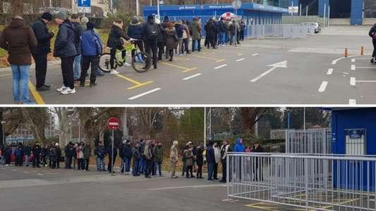 Dinamo Maksimir fans