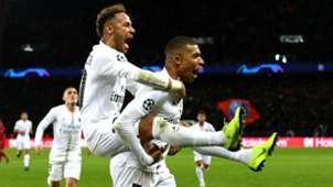 Neymar Kylian Mbappe PSG Liverpool UEFA Champions League 28112018