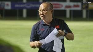 Coach Park Hang-seo U23 Vietnam vs Viettel FC Friendly Match July 2019