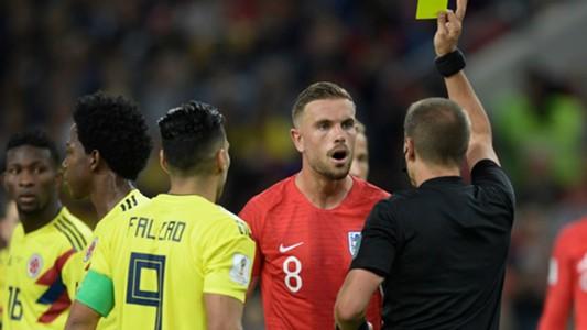 Falcao Henderson Colombia England WC Russia 03072018