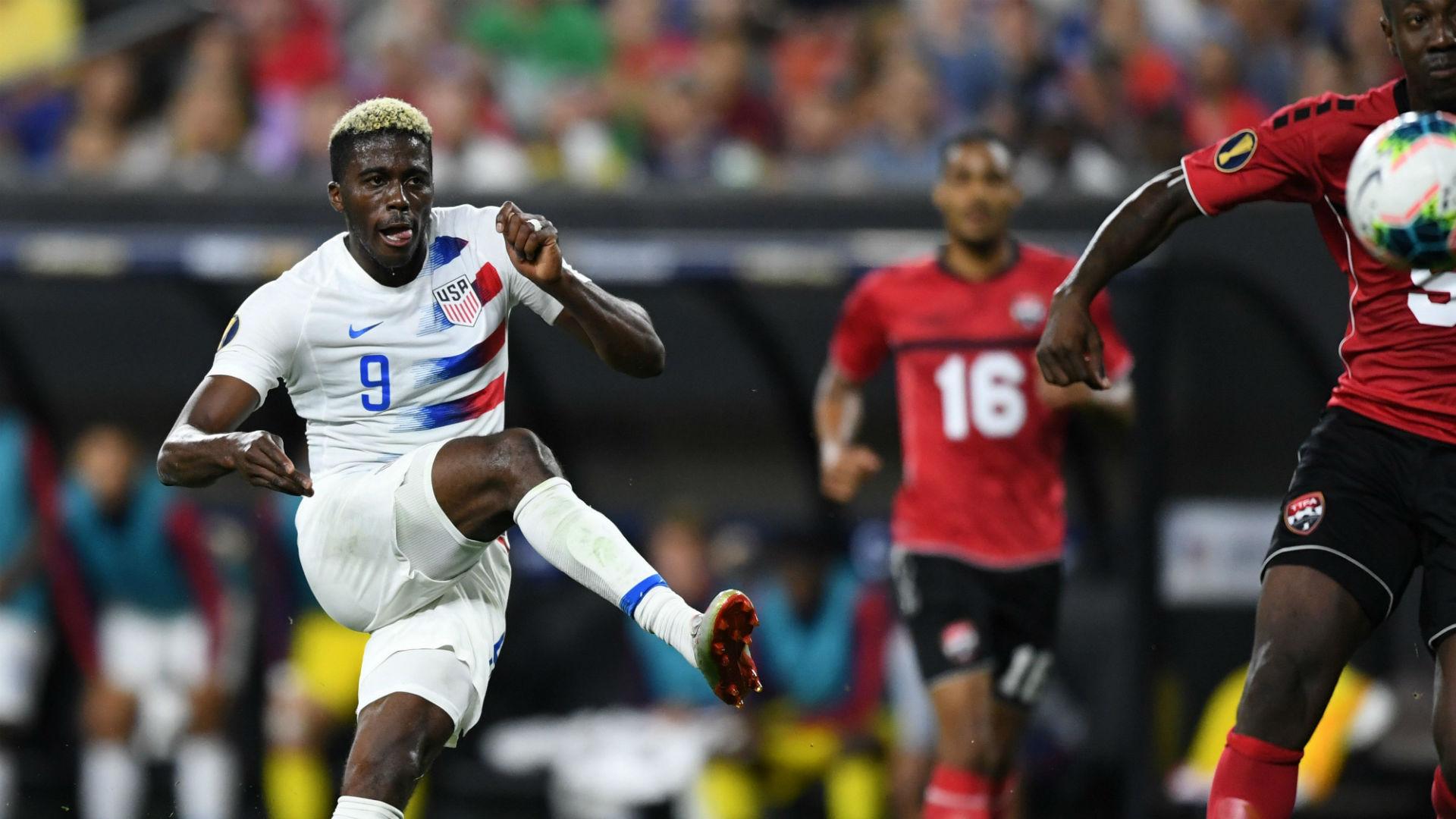 Gyasi Zardes USA USMNT Trinidad and Tobago Gold Cup 2019