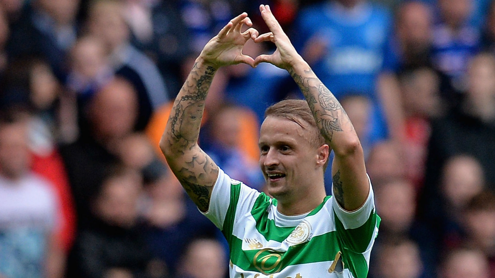 Leigh Griffiths Celtic vs Rangers
