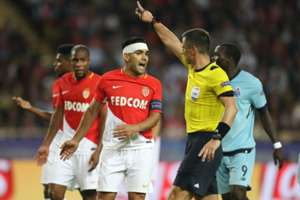 Radamel Falcao Monaco vs Porto Champions League 26082017