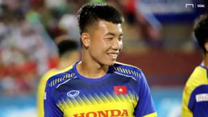 Nguyen Trong Huy U23 Vietnam vs U23 Myanmar Friendly Match 2019