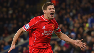 Steven Gerrard Leicester City Premier League 2014-15
