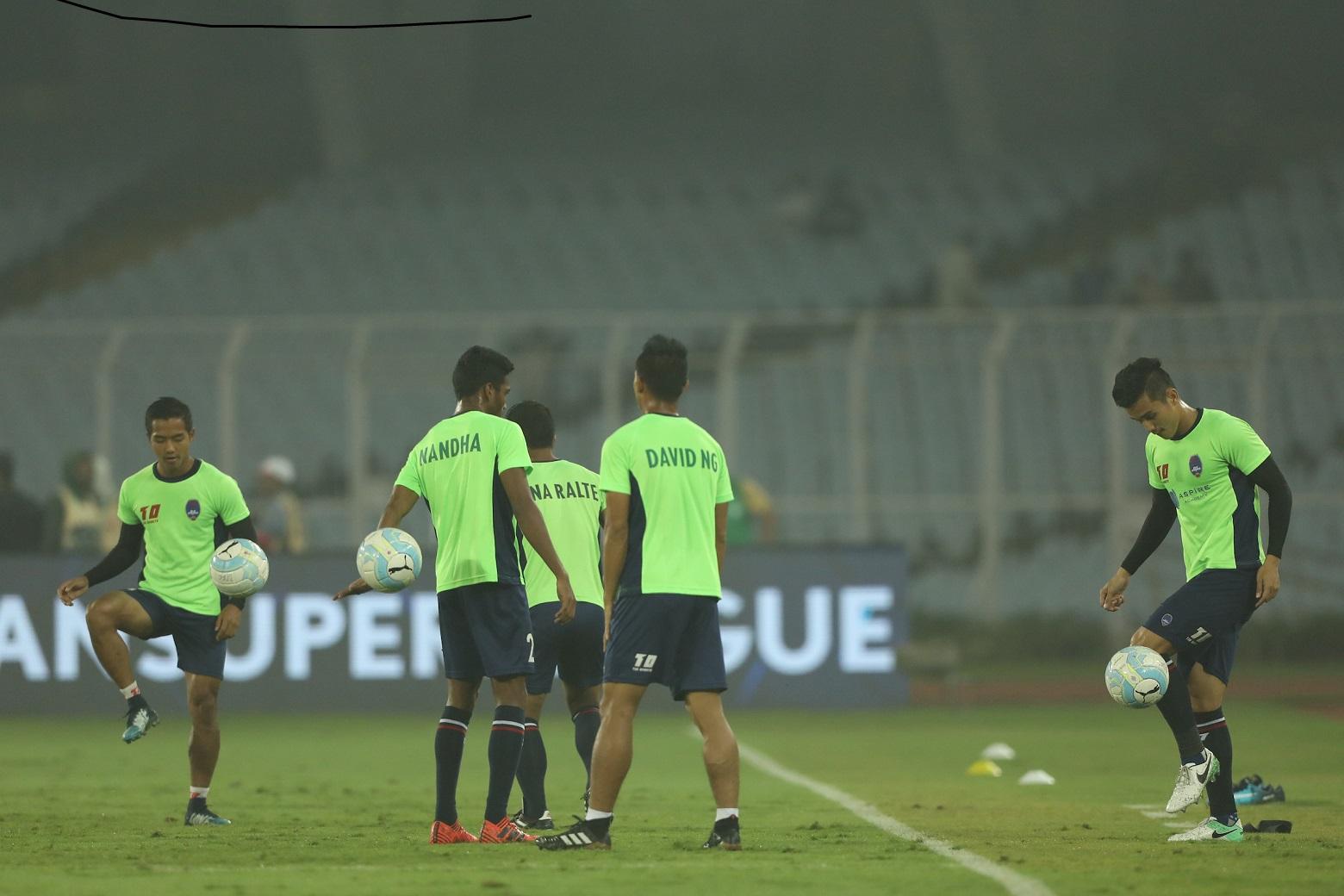 Delhi Dynamos training