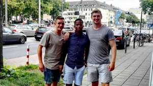Young Bafana in Germany