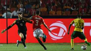 Egypt v South Africa Thembinkosi Lorch and Mohamed El-Shenawy - July 2019