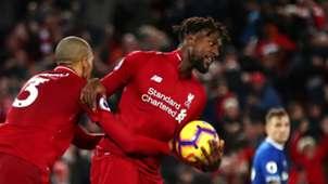 Divock Origi Liverpool Everton