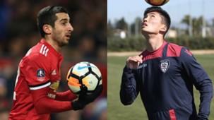 Han Kwang-Song Perugia Calcio Henrikh Mkhitaryan Manchester United