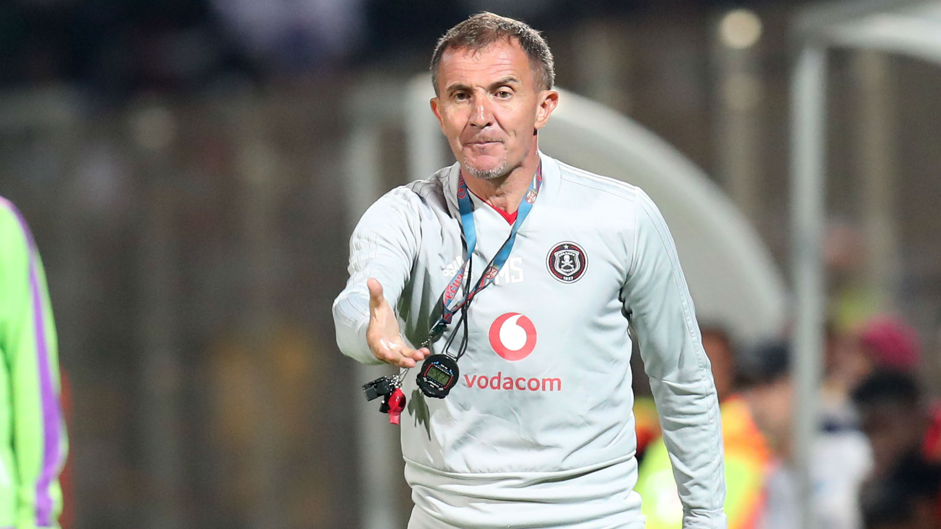 Milutin Sredojevic, Orlando Pirates, January 2019