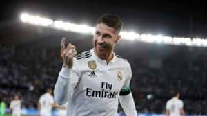 Sergio Ramos Real Madrid 2018