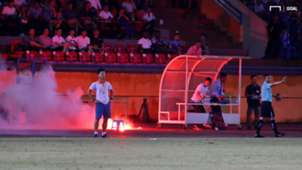 Ha Noi FC vs Nam Dinh Round 22 V.League 2019 | Red Flare at Hang Day Stadium