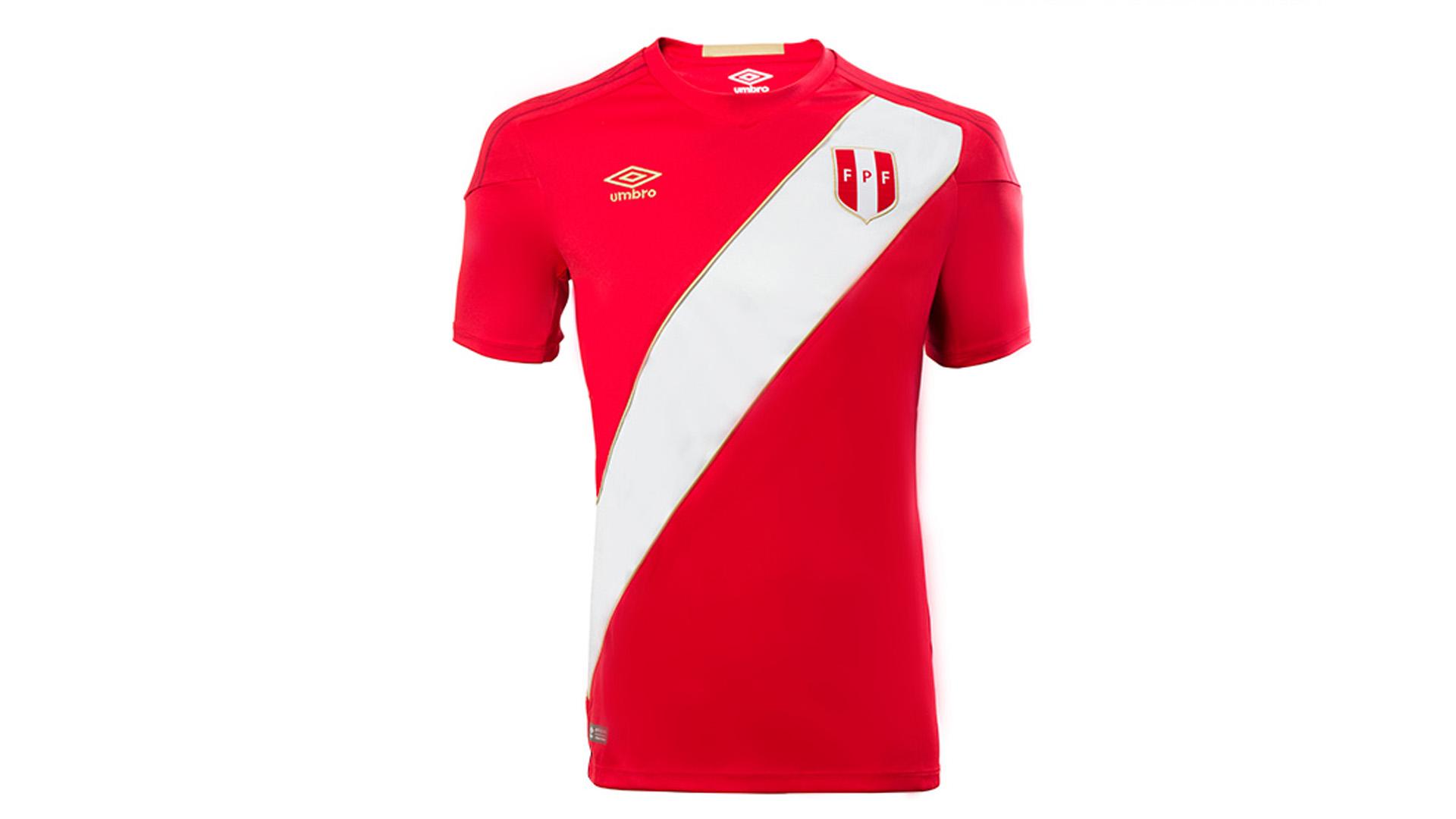 Peru Camiseta Alternativa Away Jersey 2018