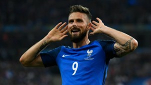 Olivier Giroud France Iceland UEFA Euro 2016 03072016