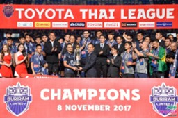 Buriram United vô địch Thai League 1 2017