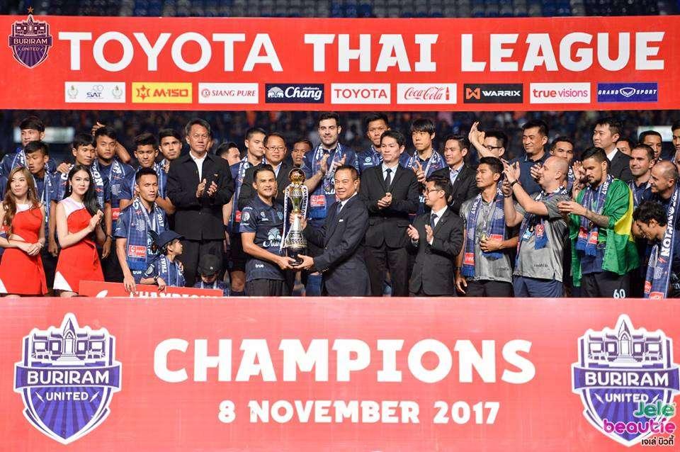 Buriram United vô địch Thai League 1 2017