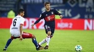 Thomas Müller Bayern München Hamburger SV 23102017