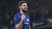 Olivier Giroud Chelsea Europa League 2018