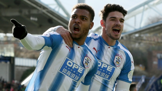 Steve Mounie pleased to win Huddersfield Town's Player of the Month award