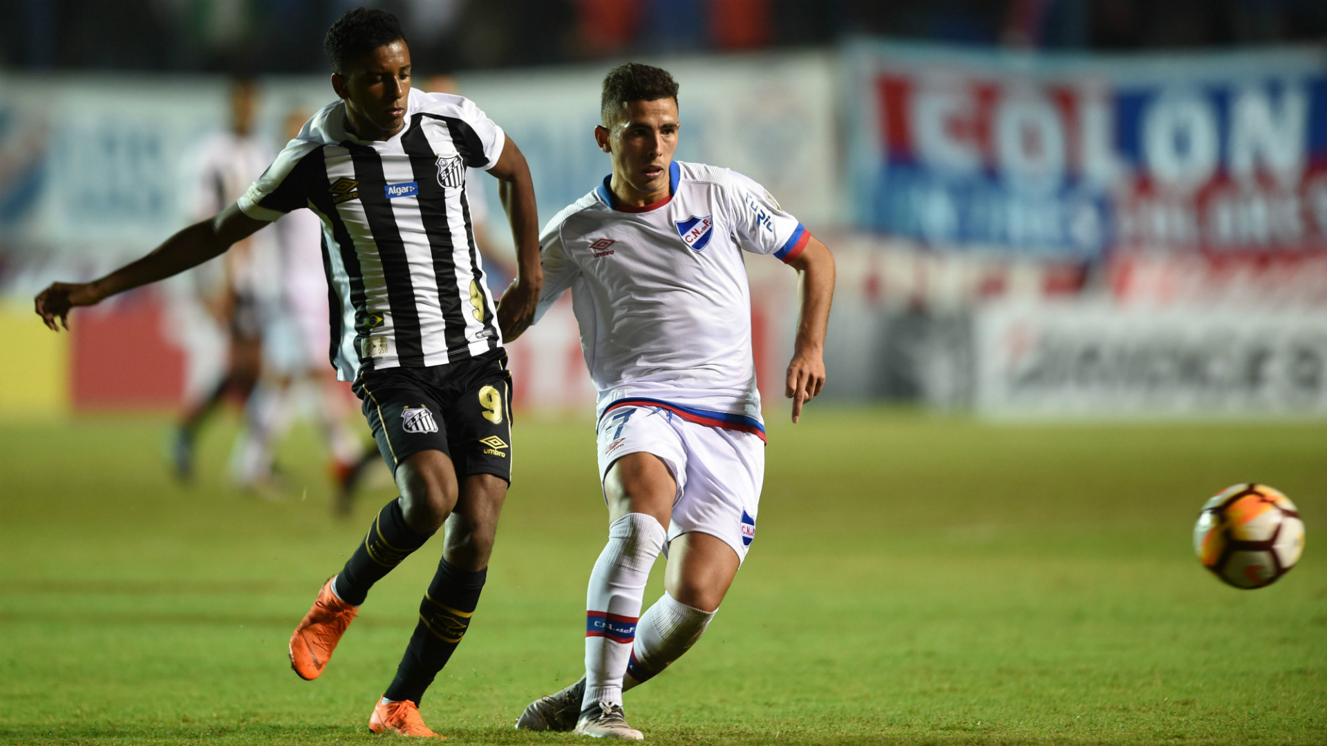 Christian Oliva Nacional Santos Copa Libertadores Fase de grupos