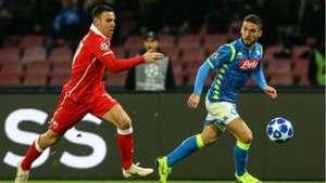Mertens Napoli Crvena zvezda Champions League
