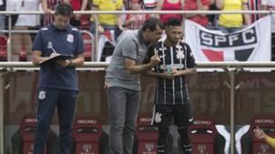Clayson e Fábio Carille - São Paulo x Corinthians