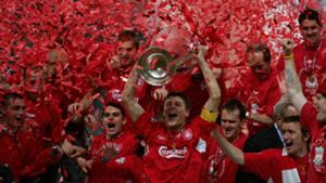 Liverpool 2005 Champions League winners