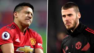 Alexis Sanchez, David de Gea, Man Utd