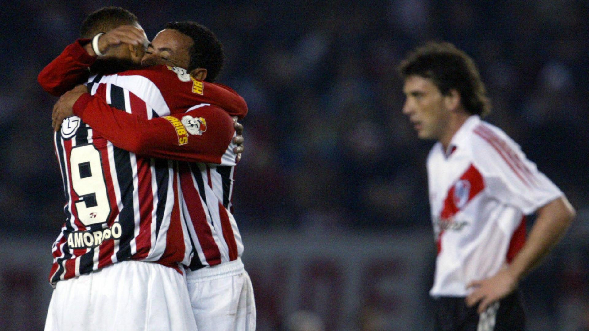 River Plate x São Paulo Libertadores 2005