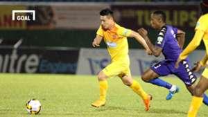 B.Bình Dương Hải Phòng Vòng 8 V.League 2018