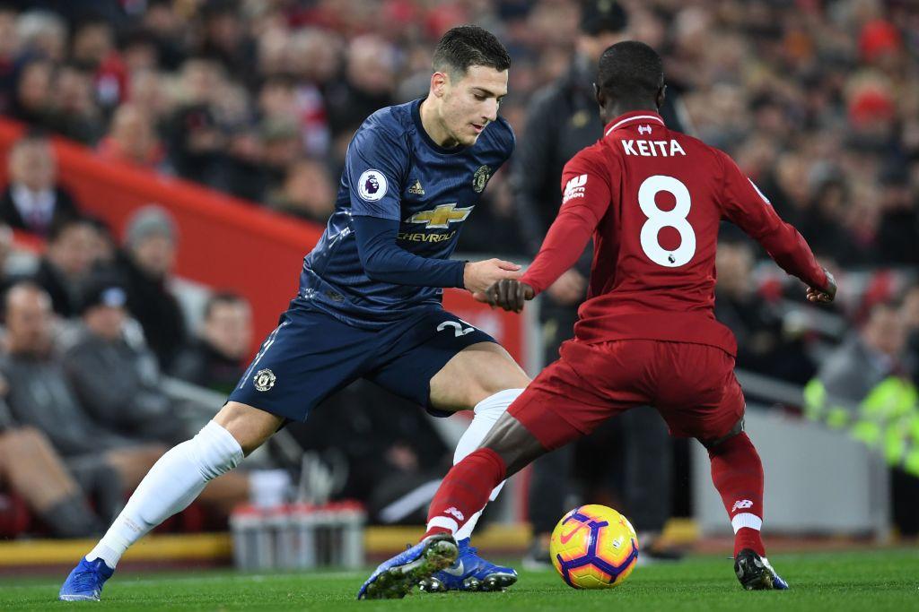 Naby Keita Liverpool Diogo Dalot Manchester United EPL 161218
