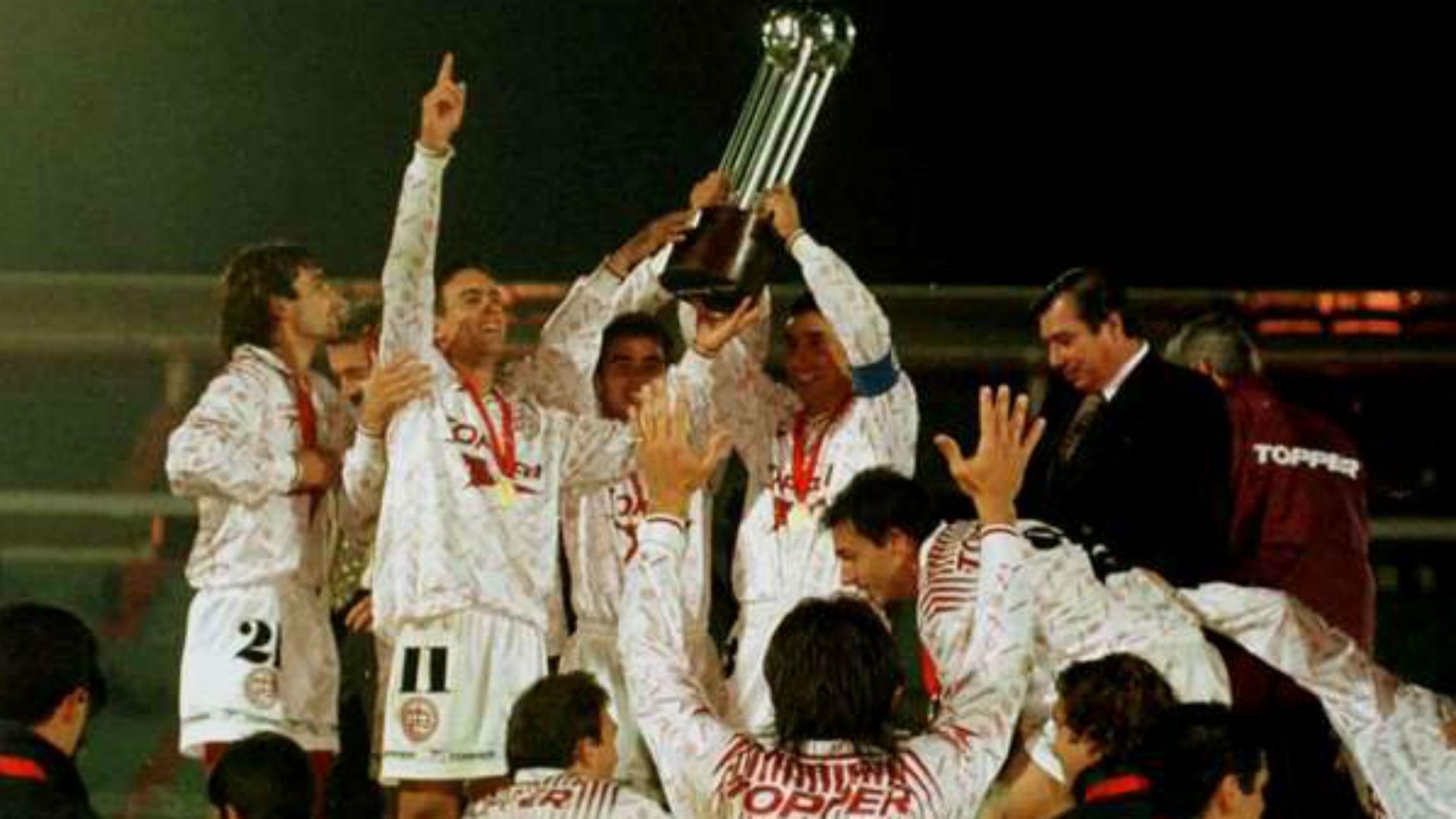Lanus Campeon Conmebol 1996